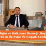 Tosya Gelişim ve Kalkınma Derneği  Başkanı Yusuf Varlık'ın Üç Aylar Ve Regaib Kandili Mesajı