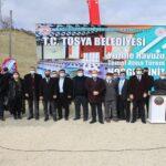 Tosya'da Yarı Olimpik Yüzme Havuzunun Temeli Atıldı