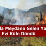 Tosya'da Meydana Gelen Yangında 2  Yayla Evi Küle Döndü